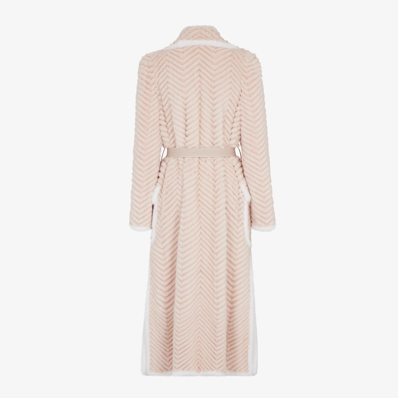 FENDI COAT - Pink mink coat - view 2 detail