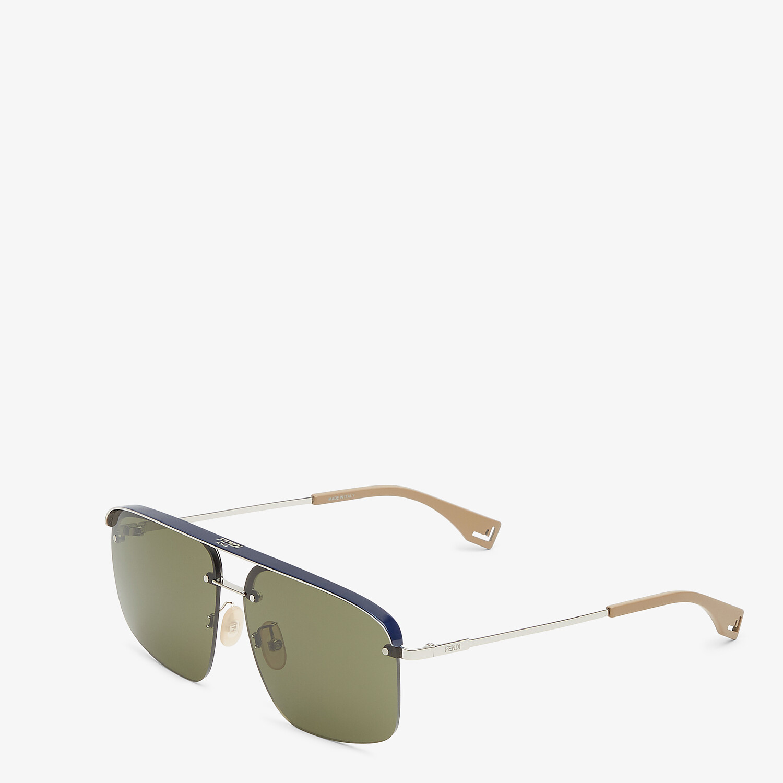 FENDI FENDI PACK - Blue sunglasses - view 2 detail