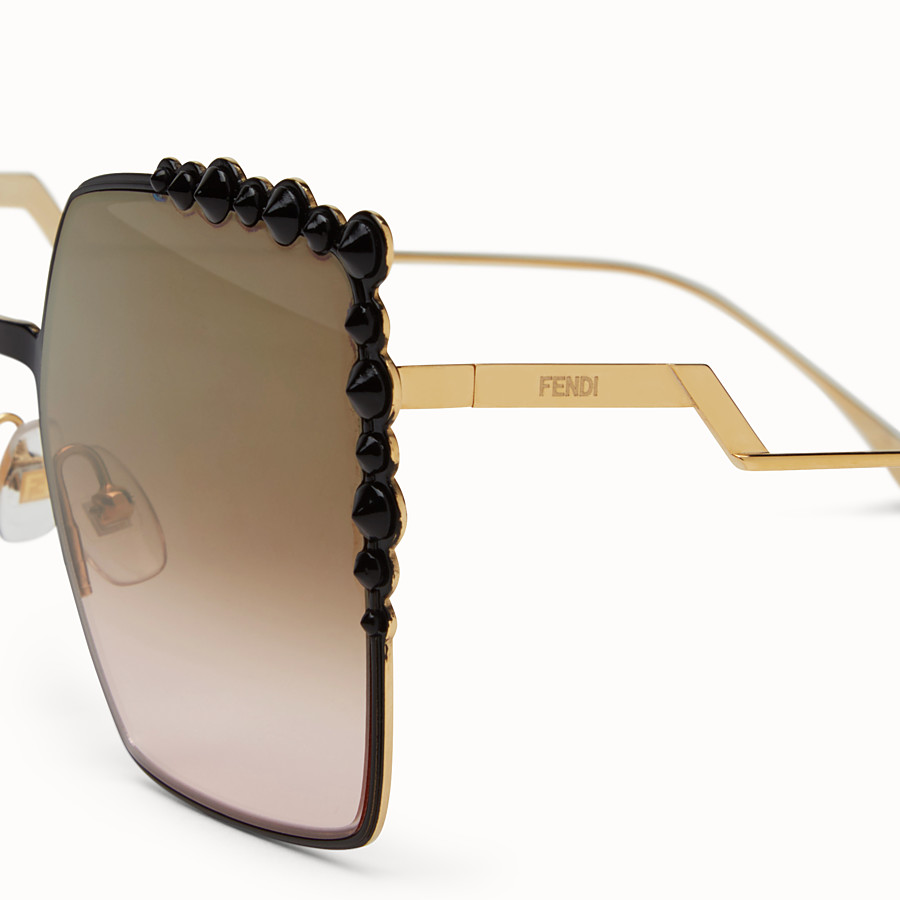 FENDI CAN EYE - Two-tone sunglasses - view 3 detail