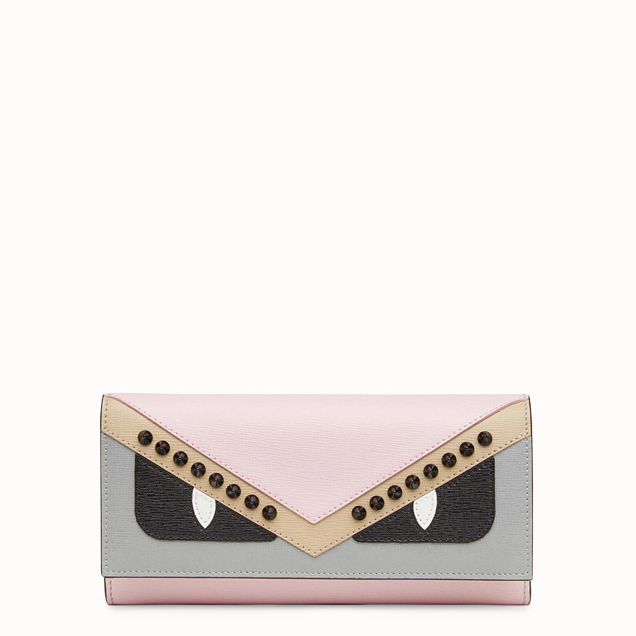 FENDI CONTINENTAL - Multicolor leather wallet - view 1 detail