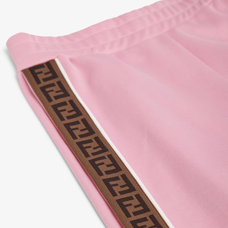 FENDI JUNIOR TROUSERS - Tech fabric junior trousers - view 3 detail