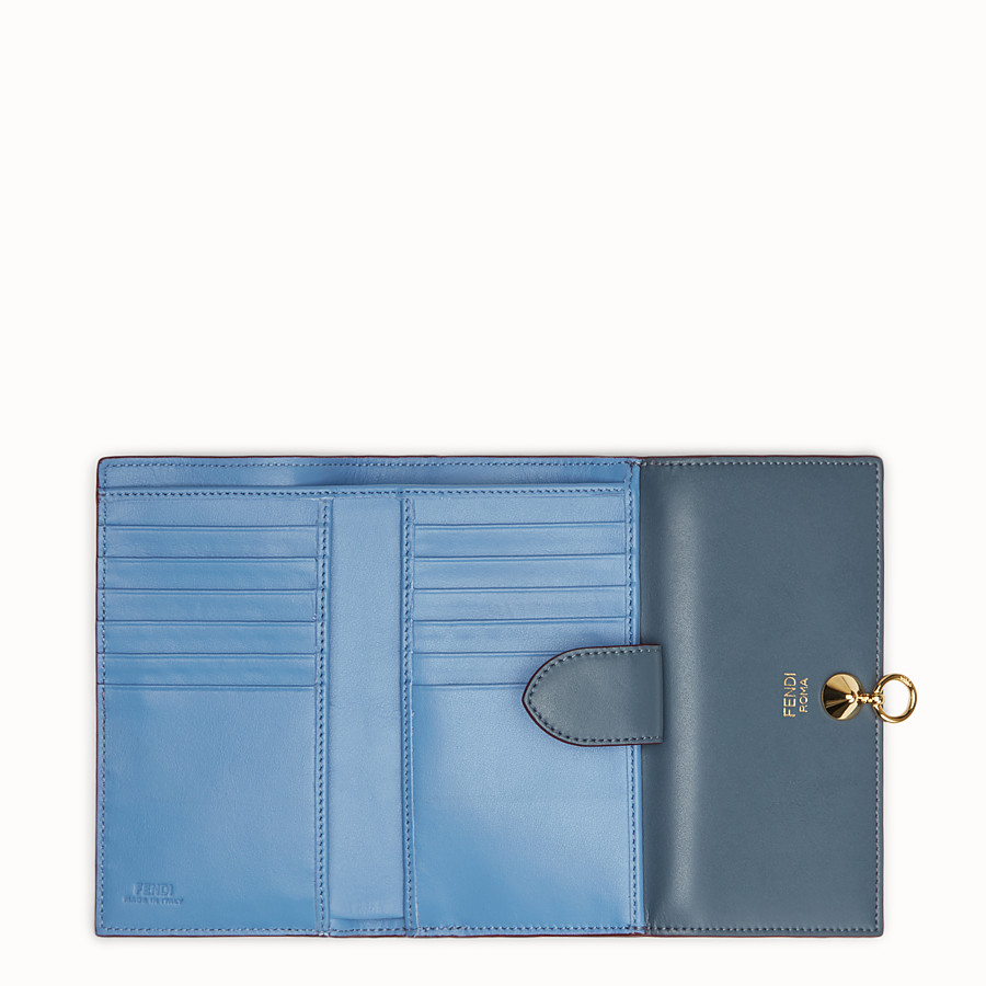 FENDI CONTINENTAL MEDIUM - Two-tone leather wallet - view 5 detail