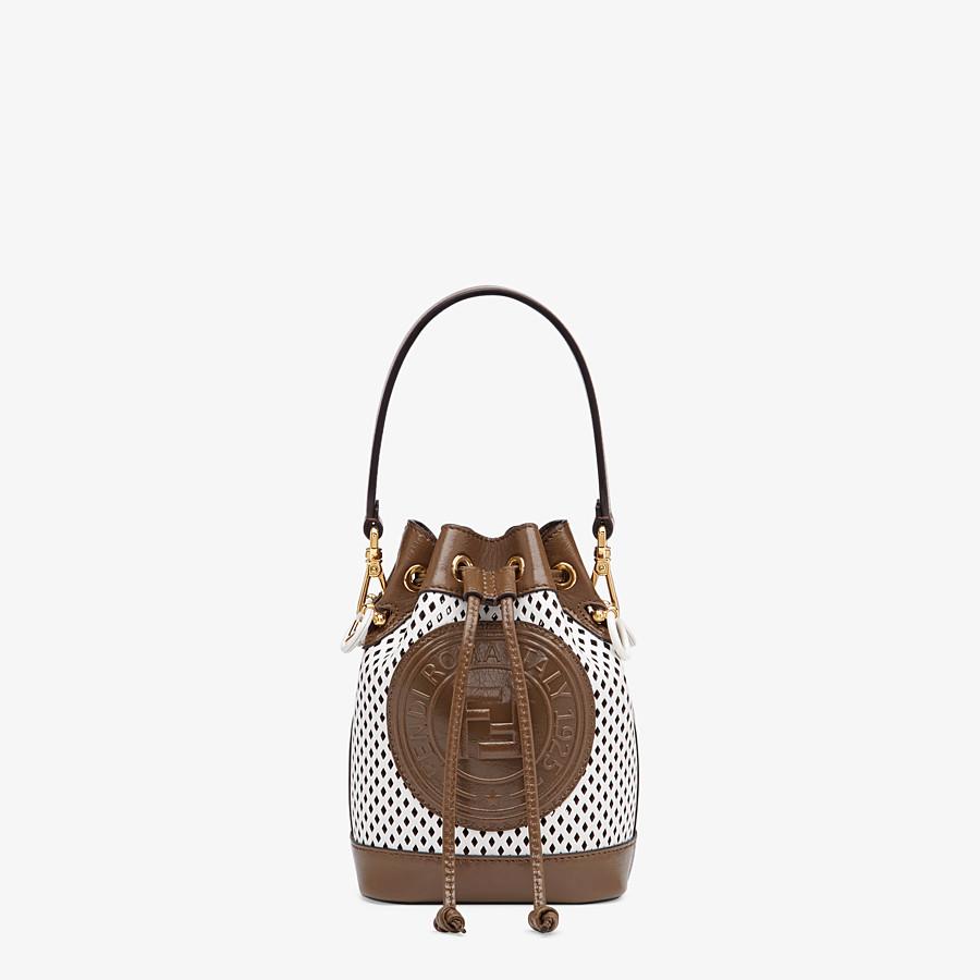 FENDI MON TRESOR - Minibag in pelle bianca - vista 1 dettaglio