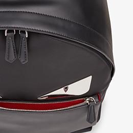 FENDI BACKPACK - Black nylon backpack - view 4 thumbnail