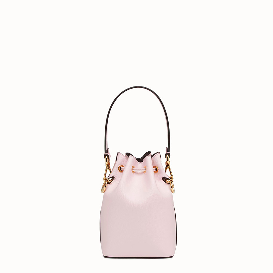 FENDI MON TRESOR - Pink leather mini-bag - view 3 detail