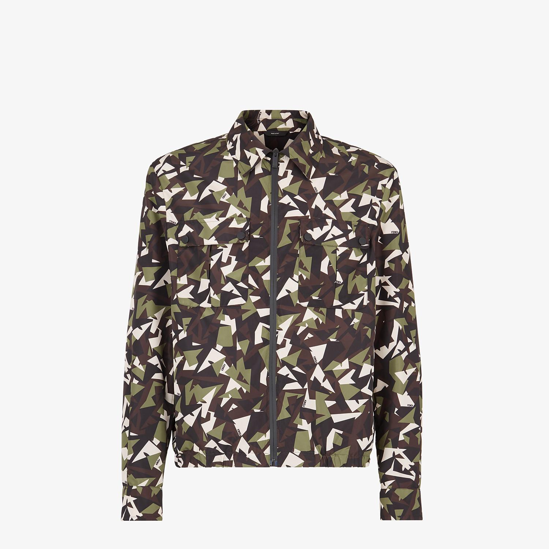 FENDI JACKET - Multicolor fabric jacket - view 1 detail