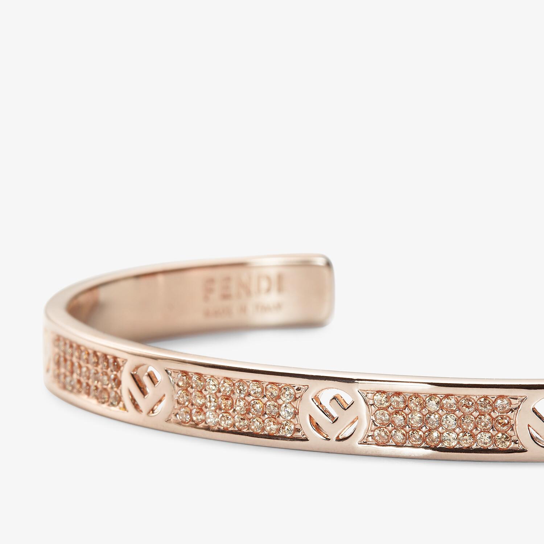 FENDI F IS FENDI BRACELET - Pink-gold-coloured bracelet - view 2 detail