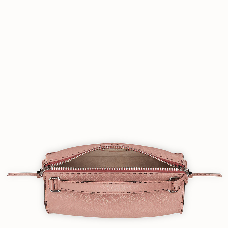 FENDI LEI BAG SELLERIA - Pink leather Boston bag - view 4 detail