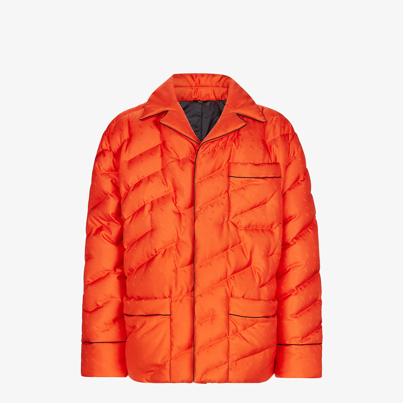 FENDI JACKET - Red silk jacket - view 1 detail