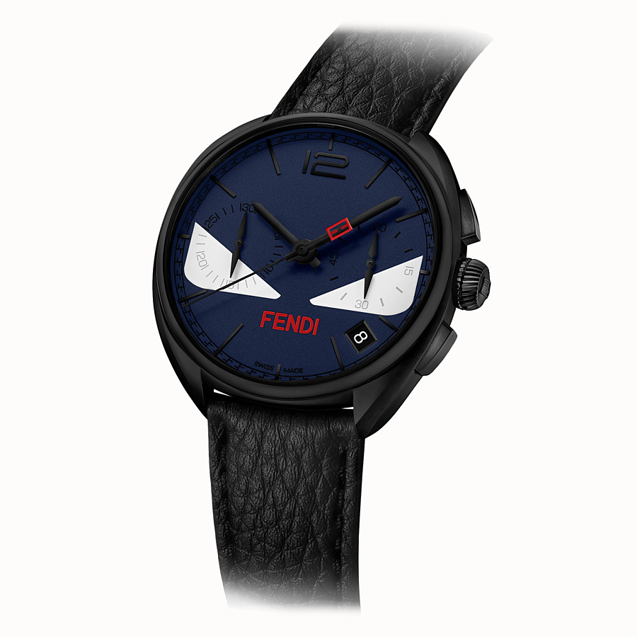 FENDI MOMENTO FENDI BUGS - Chronograph watch with strap - view 2 detail