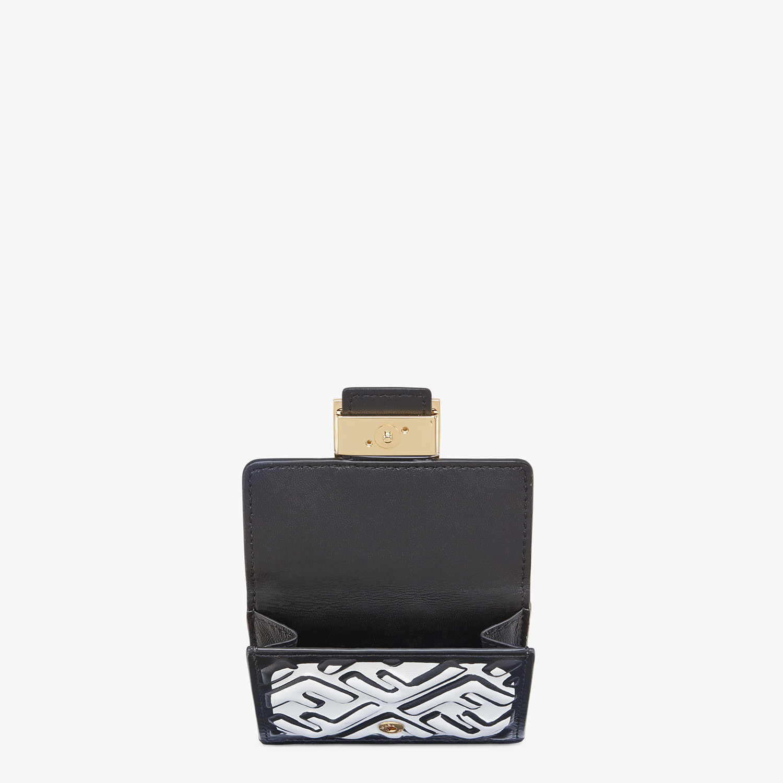 FENDI MICRO TRIFOLD - White nappa leather wallet - view 3 detail