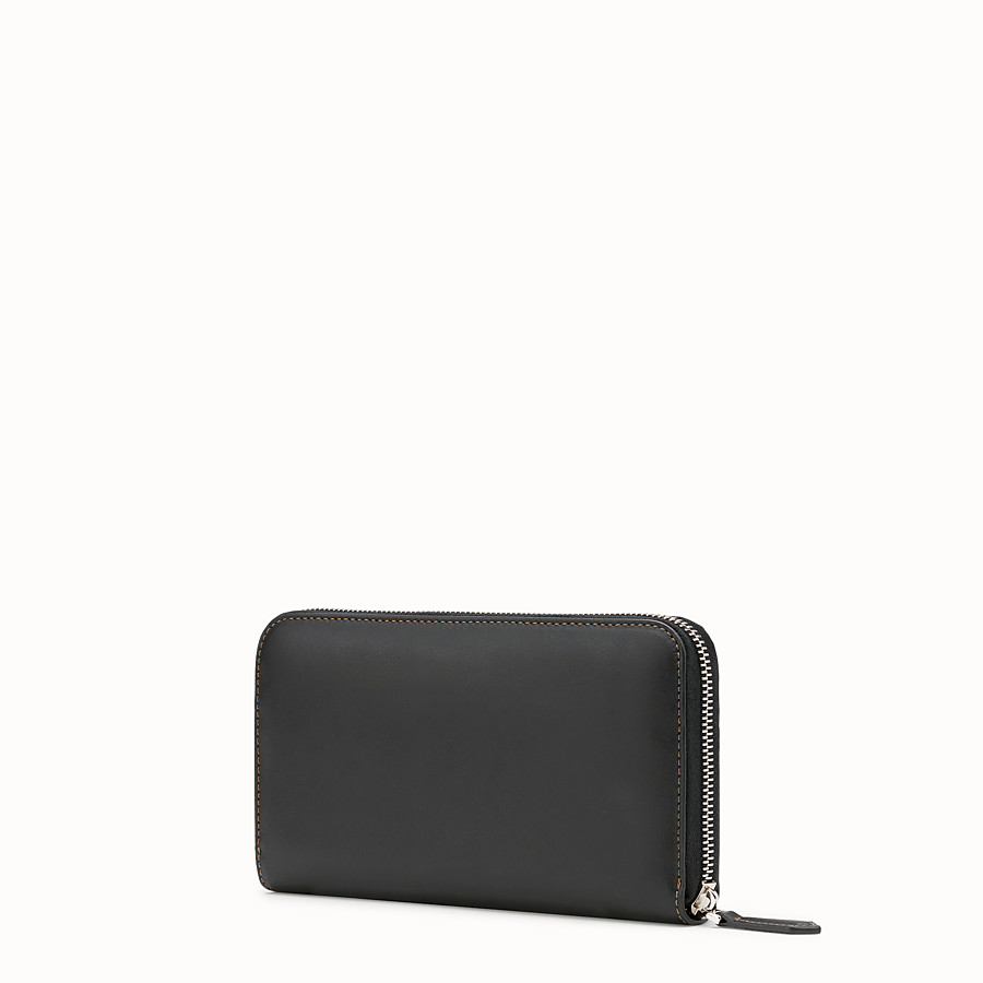 FENDI WALLET - Black leather wallet - view 2 detail