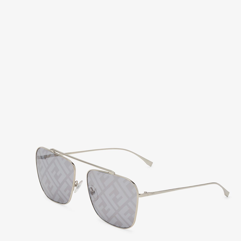 FENDI FF FAMILY - Metal sunglasses with FF logo - view 2 detail