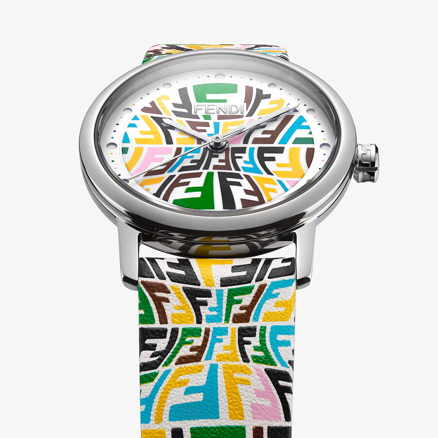 FENDI FOREVER FENDI - 29 MM - Watch with printed FF pattern - view 2 detail