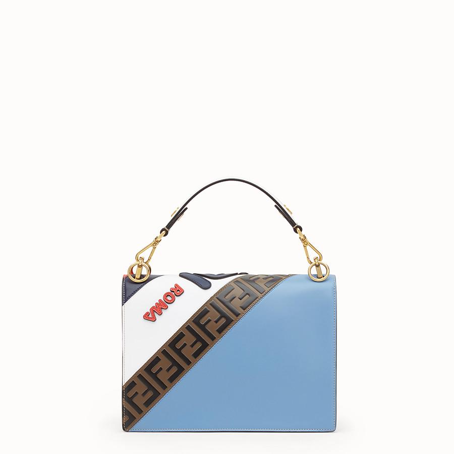 FENDI KAN I - Multicolour leather bag - view 3 detail