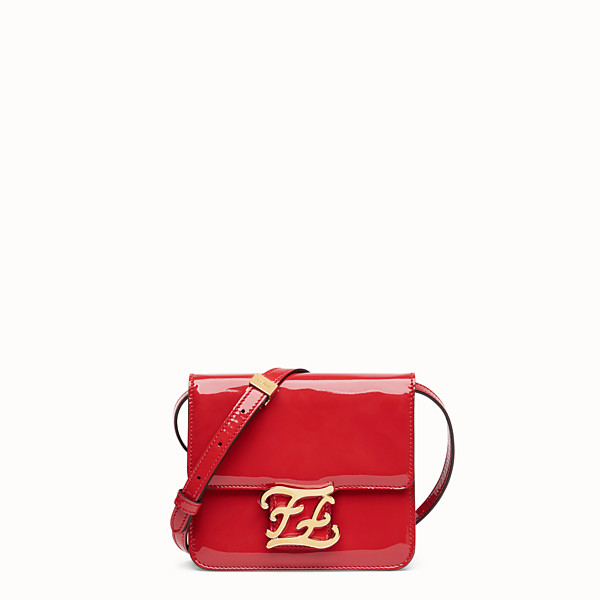 FENDI KARLIGRAPHY - Red patent leather bag - view 1 small thumbnail