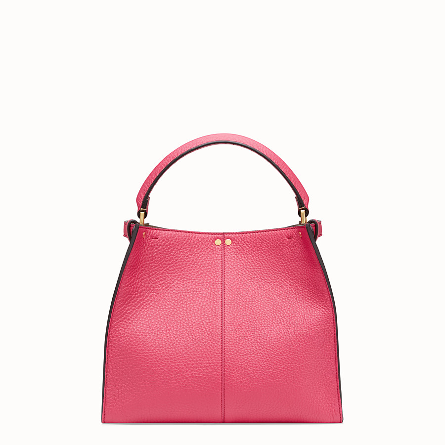 FENDI PEEKABOO X-LITE MEDIUM - Fendi Roma Amor leather bag - view 5 detail