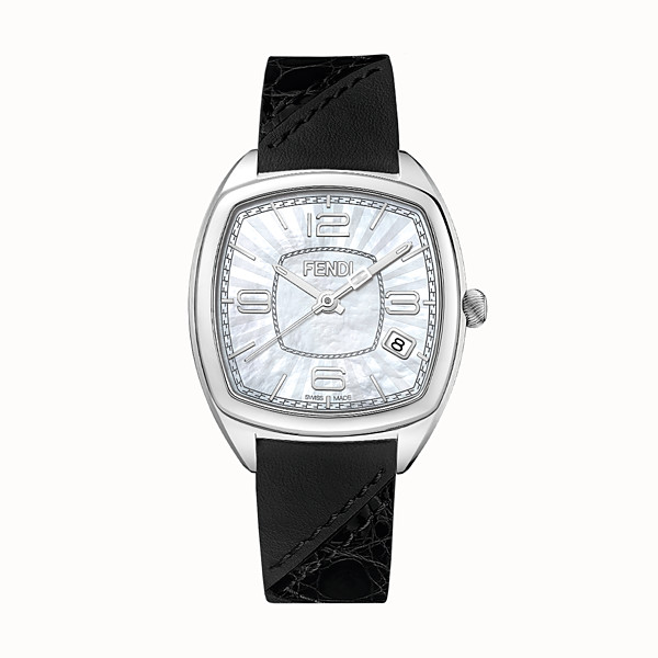 FENDI MOMENTO FENDI - 31.5 x 32 mm - Watch with strap - view 1 small thumbnail