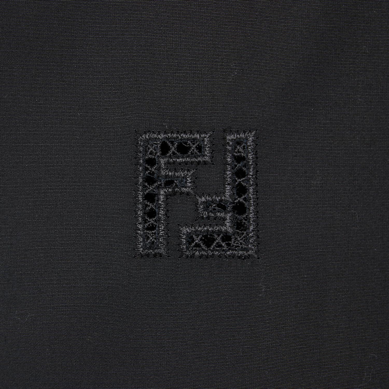 FENDI SHIRT - Black cotton shirt - view 4 detail