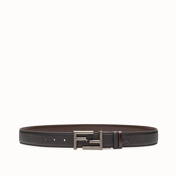 FENDI BELT - Black and brown reversible belt - view 1 small thumbnail