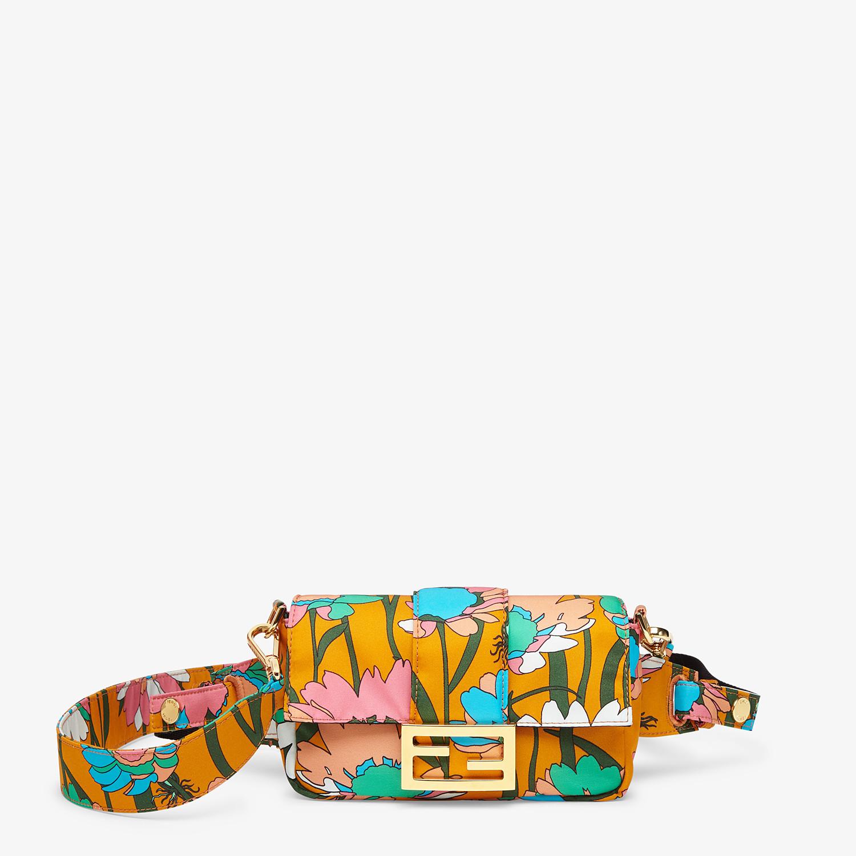 FENDI BAGUETTE - Multicolor nylon bag - view 1 detail