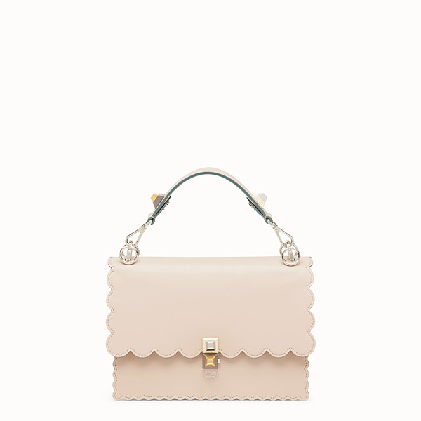 FENDI Kan I - Sac en cuir rose - view 1 small thumbnail