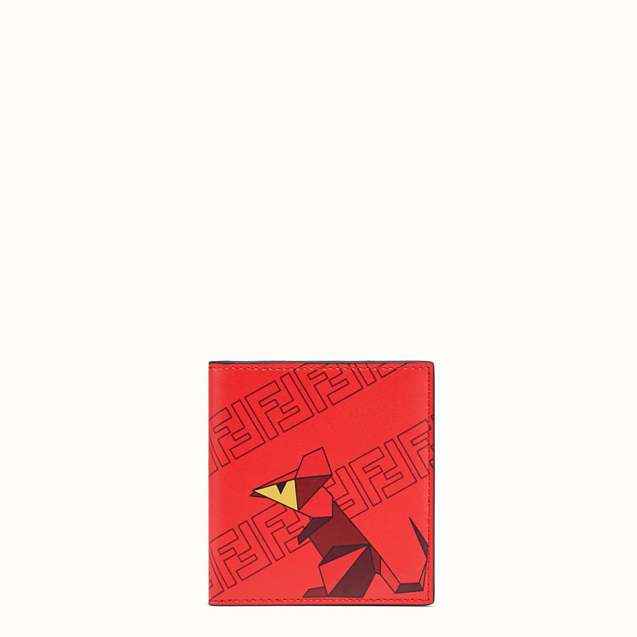 FENDI PORTEMONNAIE - Chinese New Year Limited Capsule Bifold-Portemonnaie - view 1 detail