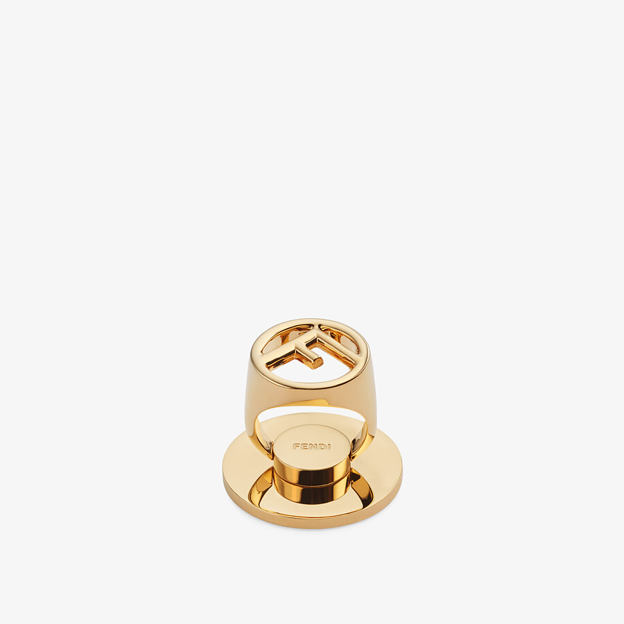FENDI F IS FENDI SMART RING - Gold-color ring - view 1 detail