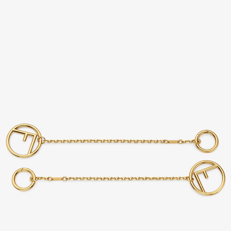 FENDI F IS FENDI BRACELET - Gold-color bracelet - view 2 detail