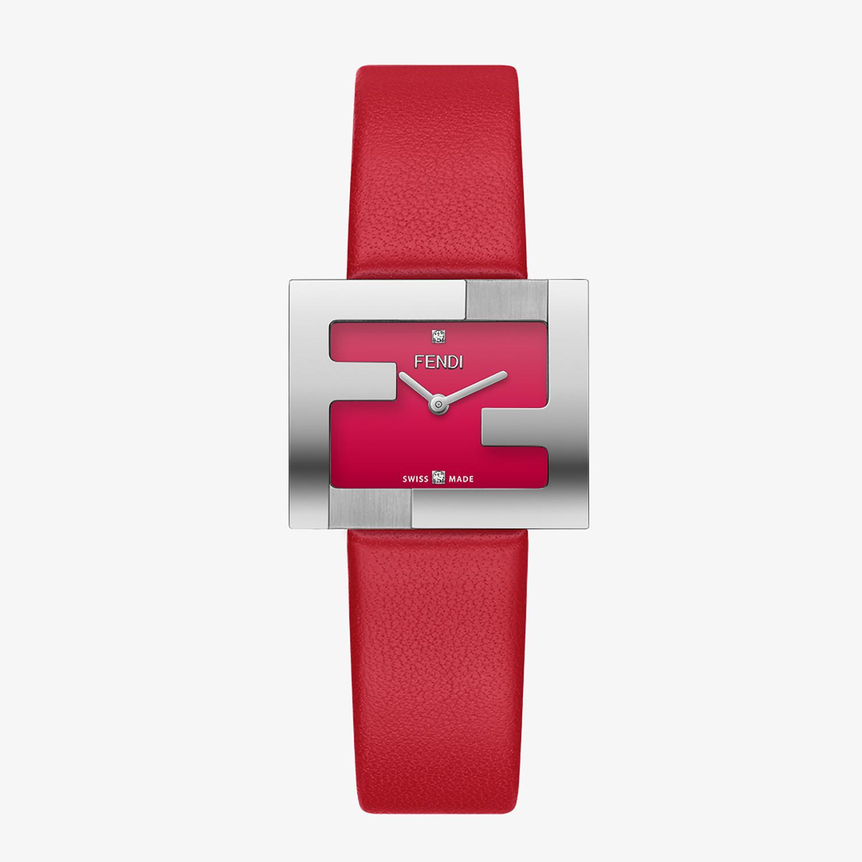 FENDI FENDIMANIA - 24 x 20 MM - Watch with FF logo bezel - view 1 detail