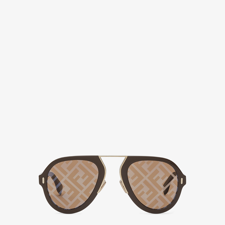 FENDI FENDI FORCE - 棕色太陽眼鏡 - view 1 detail