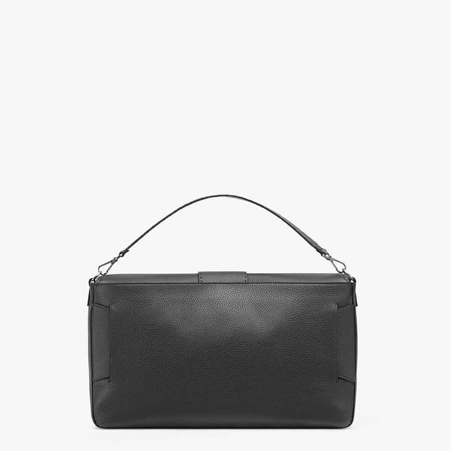 FENDI BAGUETTE - Black leather bag - view 4 detail