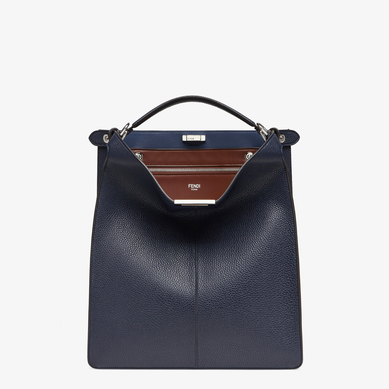 FENDI PEEKABOO ISEEU TOTE - Dark blue leather bag - view 2 detail