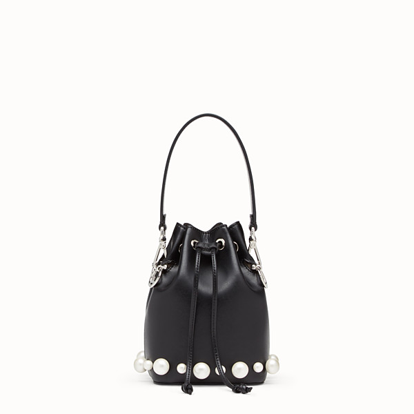 FENDI MON TRESOR - Black leather mini-bag - view 1 small thumbnail
