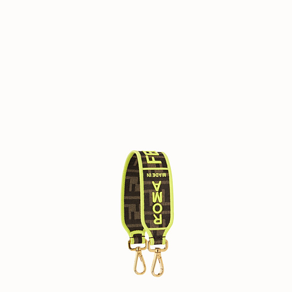 FENDI MINI STRAP YOU - Fendi Roma Amor fabric shoulder strap - view 1 small thumbnail