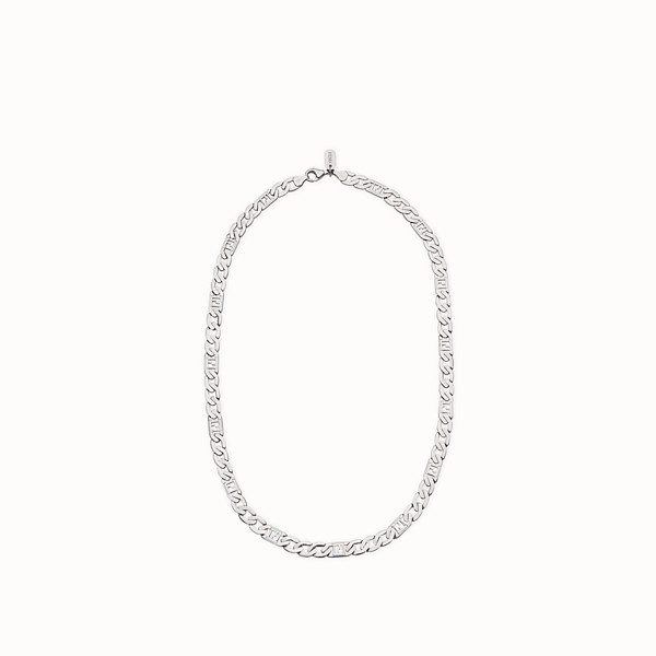 FENDI NECKLACE - Silver-coloured necklace - view 1 small thumbnail