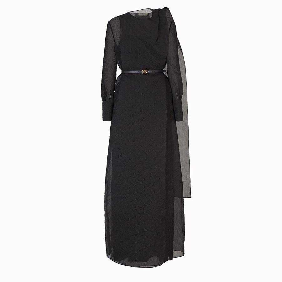 FENDI DRESS - Black organza dress - view 1 detail