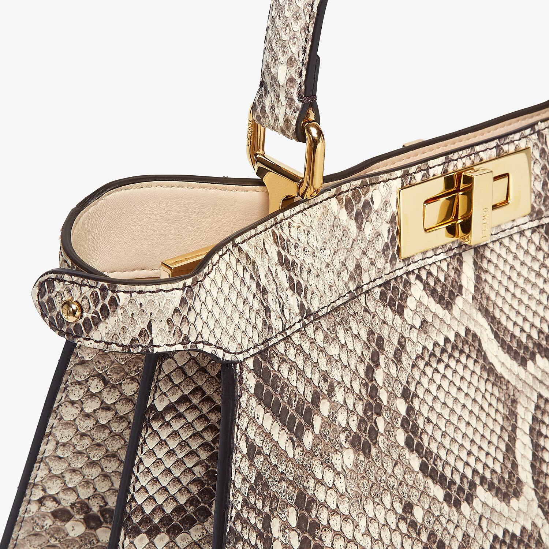 FENDI PEEKABOO ISEEU MEDIUM - Natural python leather bag - view 7 detail