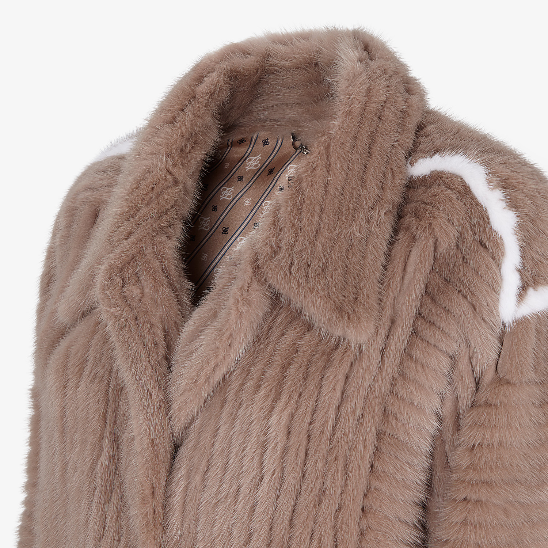 FENDI JACKET - Featherlike mink jacket - view 3 detail