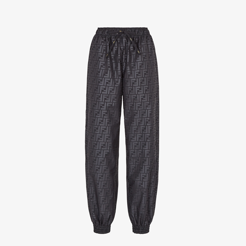 FENDI PANTS - Black sports pants - view 1 detail