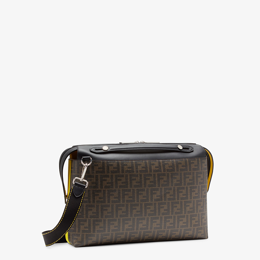 FENDI BY THE WAY  - Tasche aus Stoff in Braun - view 2 detail
