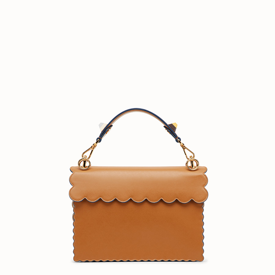 FENDI KAN I - Brown leather bag - view 3 detail