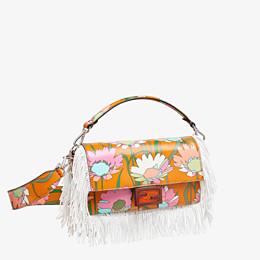 FENDI BAGUETTE - Orange fabric bag - view 2 thumbnail