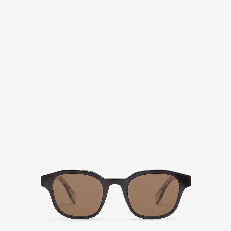FENDI ROMA AMOR - Black sunglasses - view 1 detail