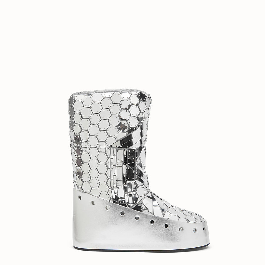 FENDI SKI BOOT - Fendi Prints On boots with mirror effect - view 1 detail