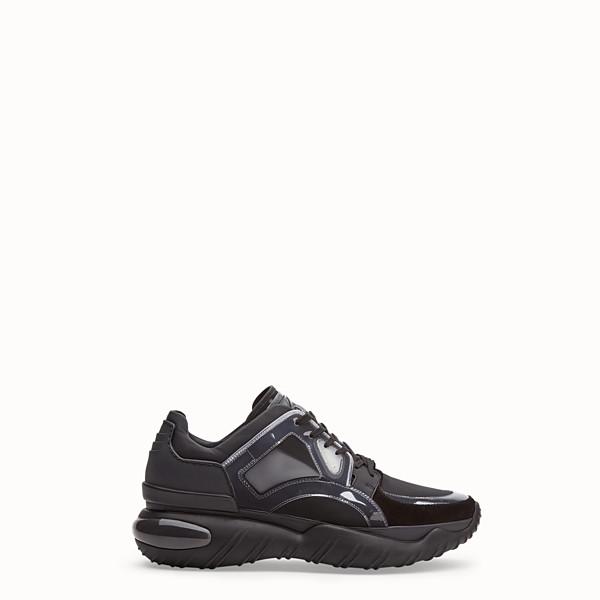 Cuir Hommes En Luxe Fendi Fourrure Chaussures De Et 456wBq