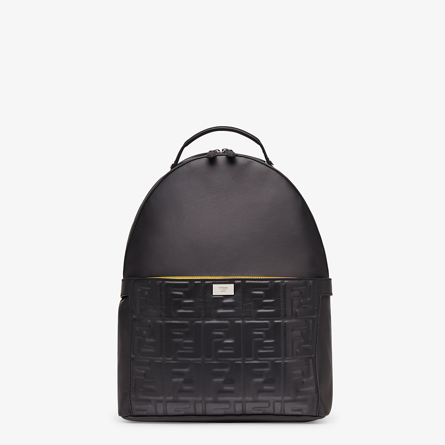 FENDI PEEKABOO BACKPACK - Black nappa leather backpack - view 2 detail