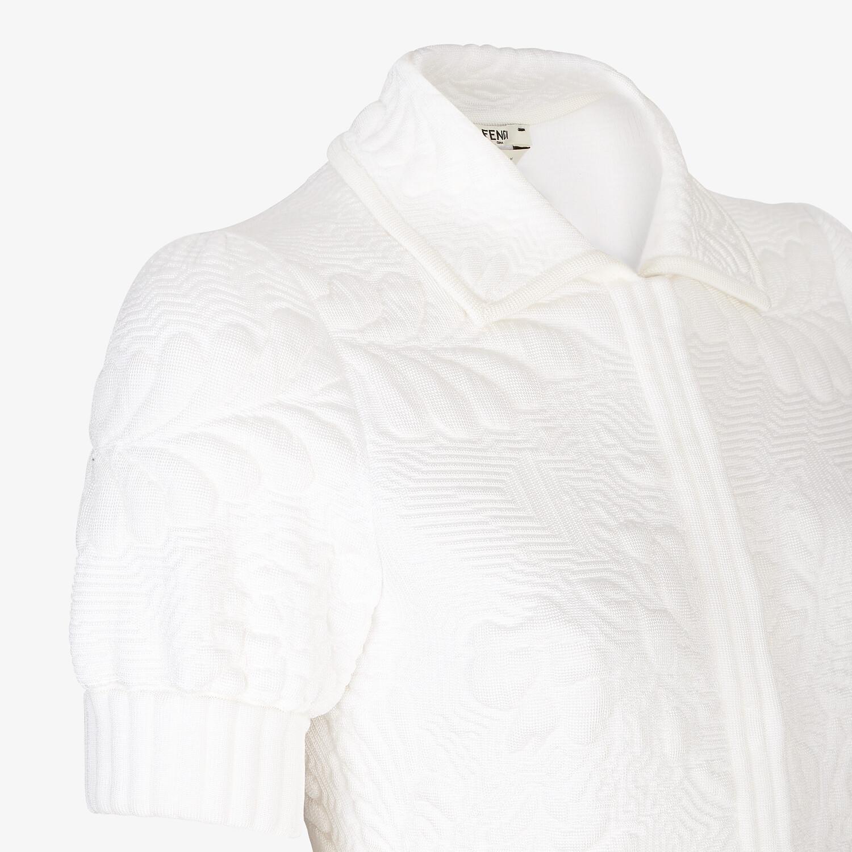 FENDI JUMPSUIT - Trainingsanzug aus Viskose in Weiß - view 3 detail
