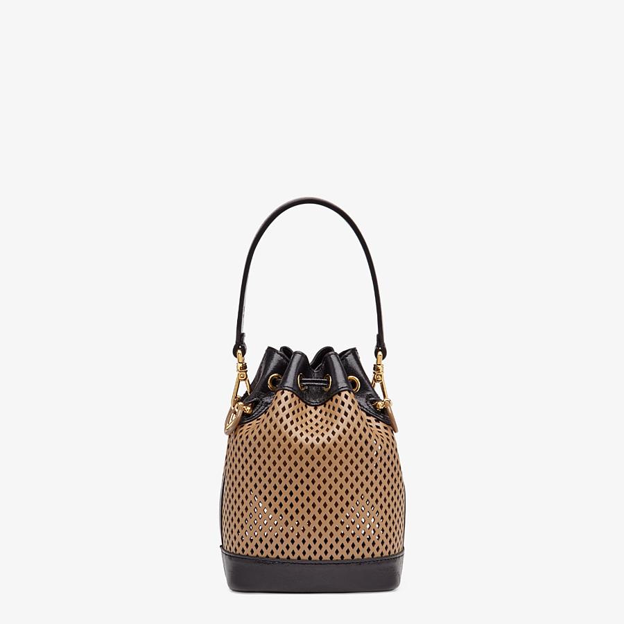 FENDI MON TRESOR - Beige leather mini-bag - view 4 detail
