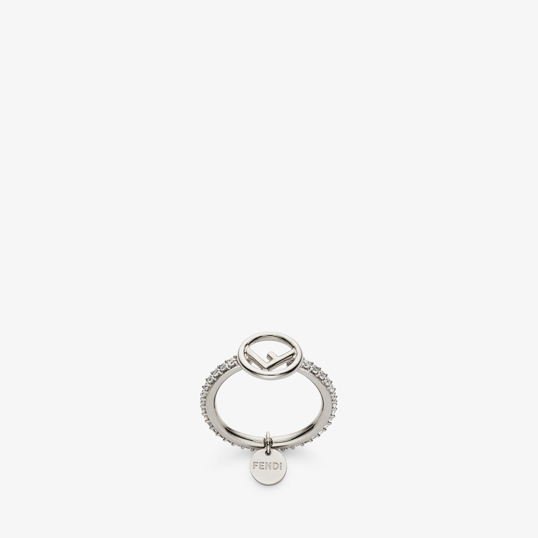 FENDI F IS FENDI RING - Palladium-coloured ring - view 1 detail